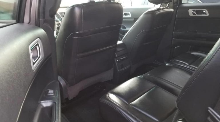 Foreign Used Ford Explorer 2013 Model Gray-8