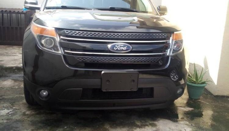 Foreign Used Ford Explorer 2012 Model Black -0