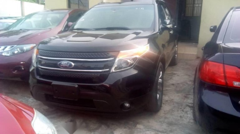 Foreign Used Ford Explorer 2012 Model Black-8