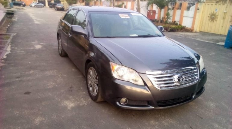 Foreign Used Toyota Avalon 2008 Model Blue-7