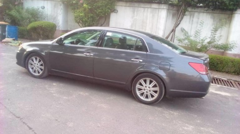 Foreign Used Toyota Avalon 2008 Model Blue-13