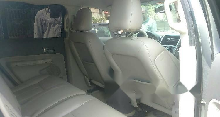 Foreign Used Ford Edge 2008 Model Silver-1