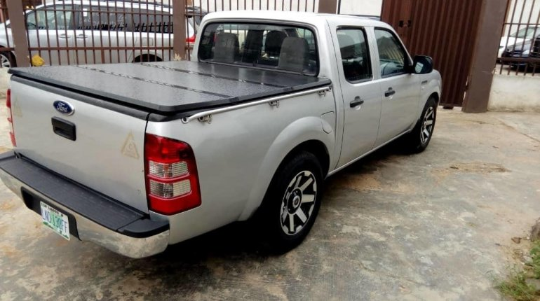 Nigeria Used Ford Ranger 2008 Model Silver -5