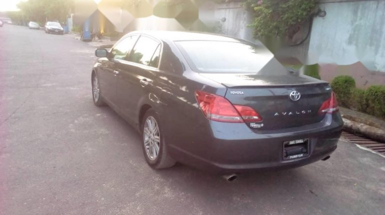 Foreign Used Toyota Avalon 2008 Model Blue-5