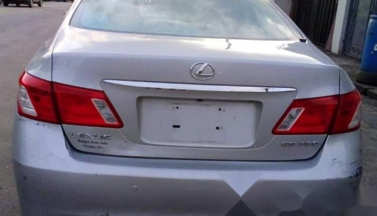 Foreign Used Lexus ES 2008 Model Silver-7