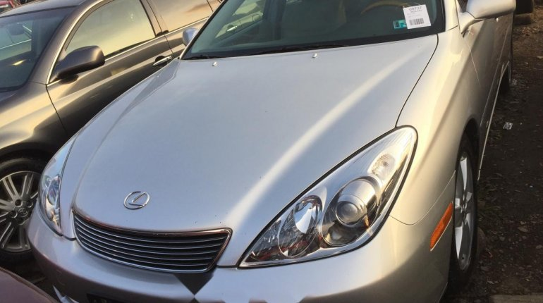 Foreign Used Lexus ES 2006 Model Silver-5