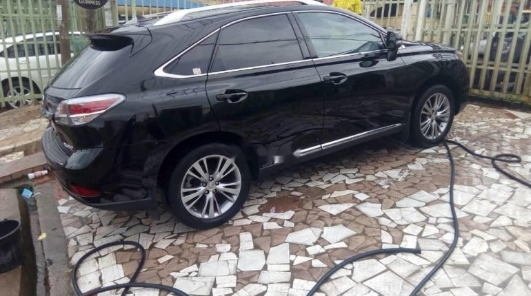 Foreign Used Lexus RX 2013 Model Black-7