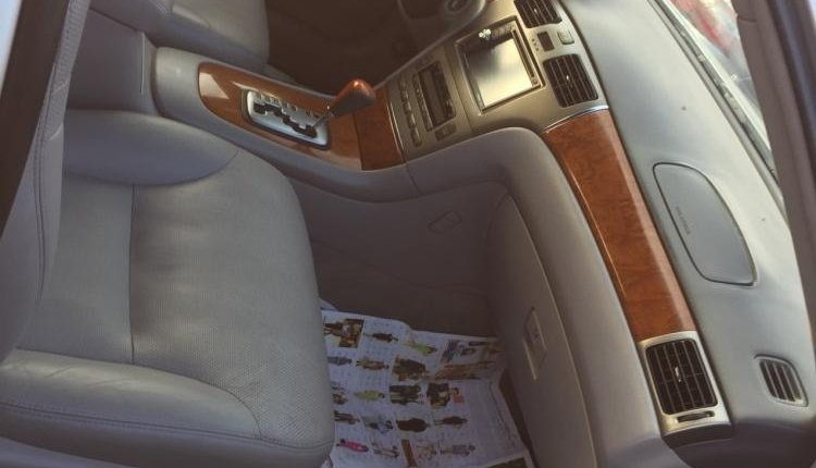Foreign Used Lexus ES 2006 Model Silver-4