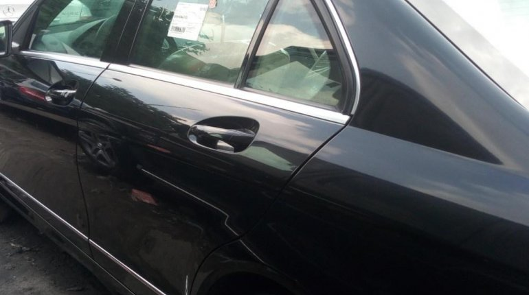 Foreign Used Mercedes-Benz C350 2008 Model Black-1