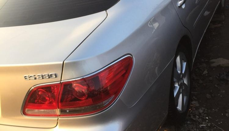 Foreign Used Lexus ES 2006 Model Silver-3