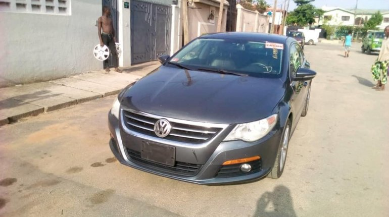 Foreign Used Volkswagen CC 2010 Model Gray-0