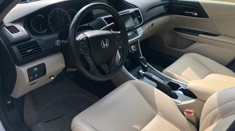 Nigeria Used Honda Accord 2015 Model Gold-9