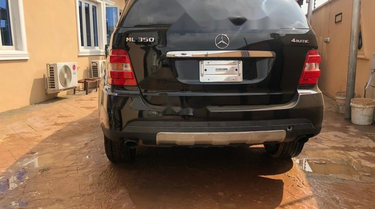 Foreign Used Mercedes-Benz ML350 2007 Model Black-3