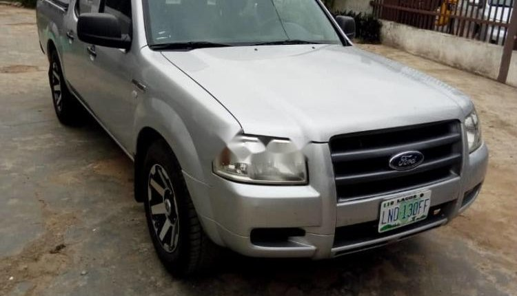 Nigeria Used Ford Ranger 2008 Model Silver -8