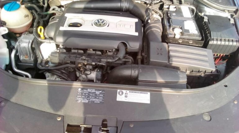 Foreign Used Volkswagen CC 2010 Model Gray-2