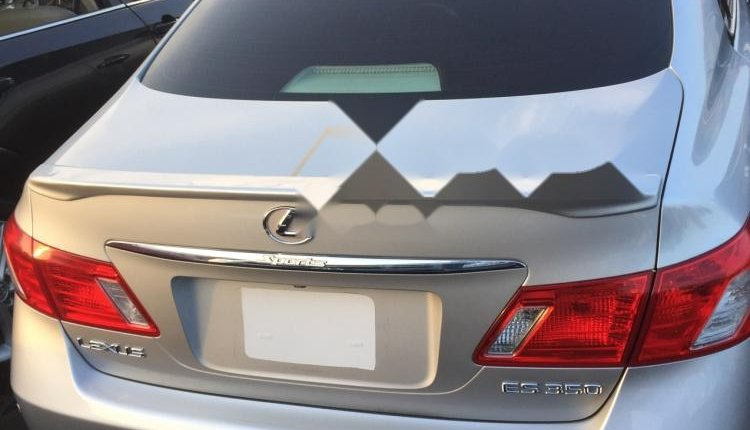 Foreign Used Lexus ES 2008 Model Silver-2