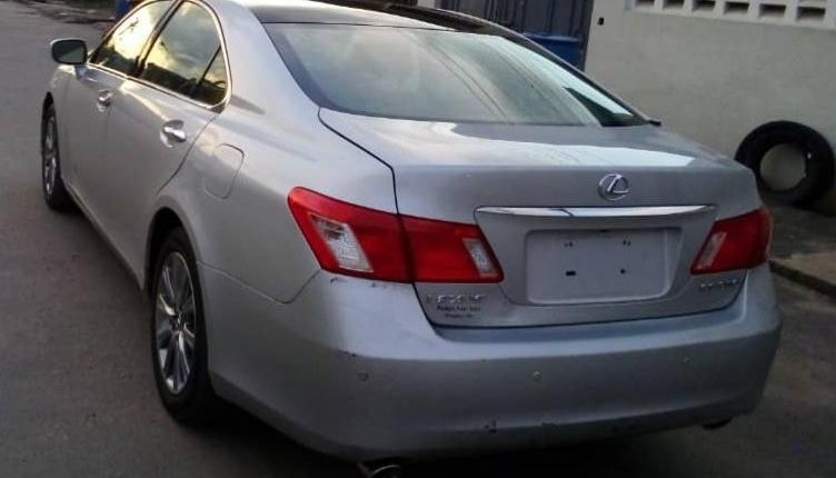 Foreign Used Lexus ES 2008 Model Silver-8