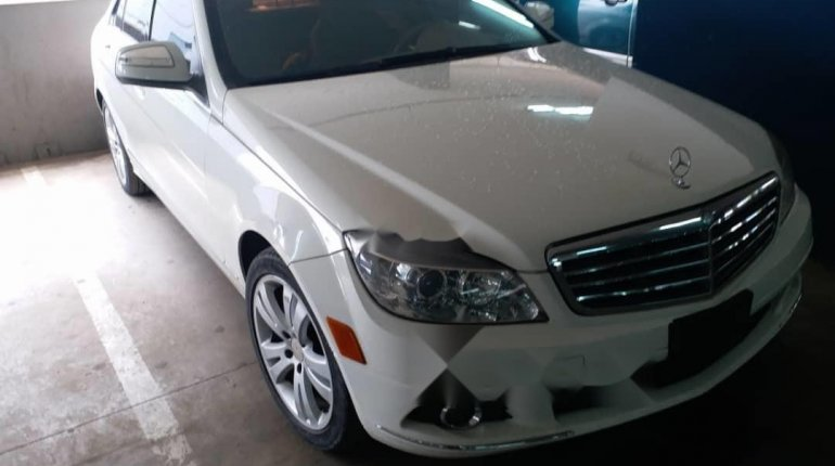 Foreign Used Mercedes-Benz C300 2008 Model White -5