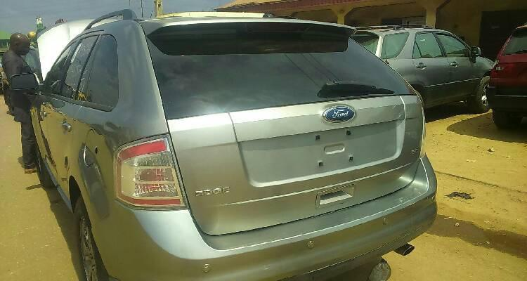 Foreign Used Ford Edge 2008 Model Silver-4