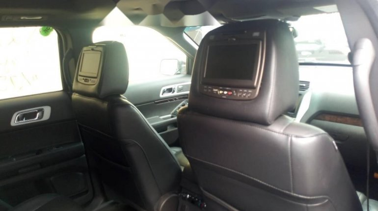 Foreign Used Ford Explorer 2012 Model Black -3