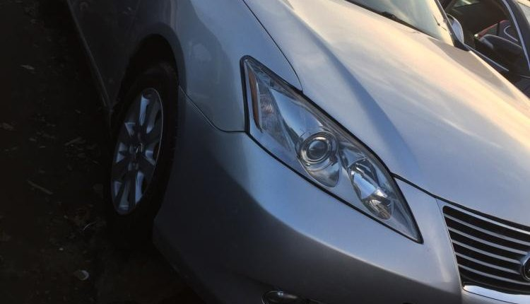 Foreign Used Lexus ES 2008 Model Silver-5