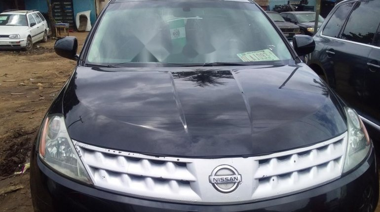 Foreign Used Nissan Murano 2007 Model Black-13