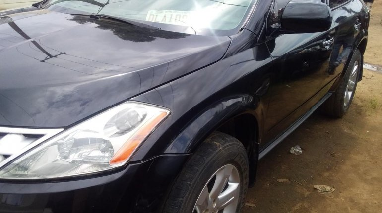 Foreign Used Nissan Murano 2007 Model Black-3