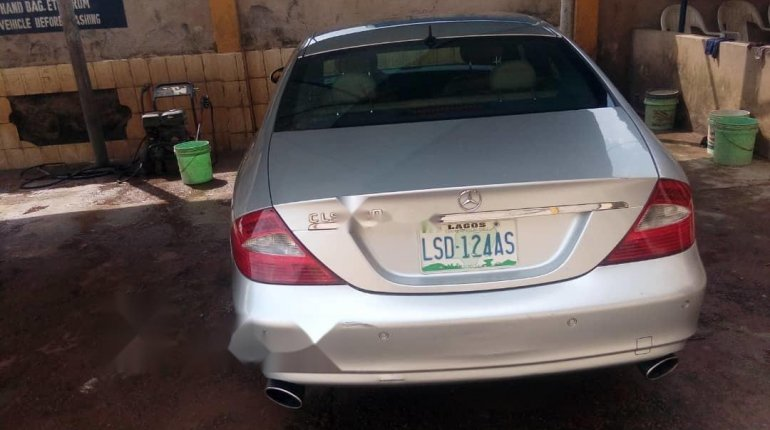 Nigeria Used Mercedes-Benz CLS 2008 Model Silver-5