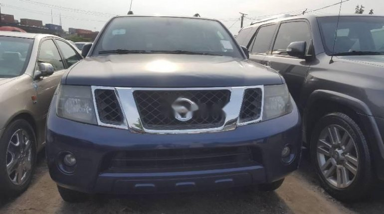Foreign Used Nissan Pathfinder 2008 Model Blue -6