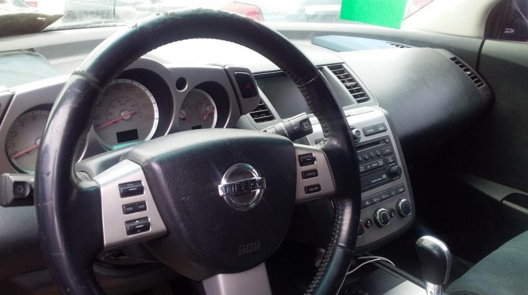 Foreign Used Nissan Murano 2007 Model Black-11