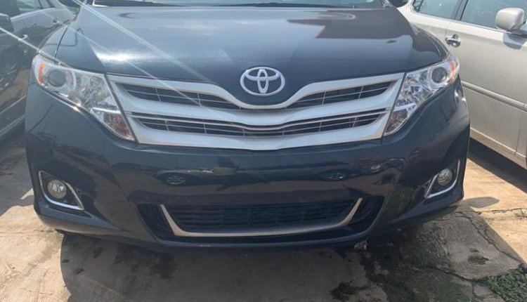 Foreign Used Toyota Venza 2013 Model Blue -7