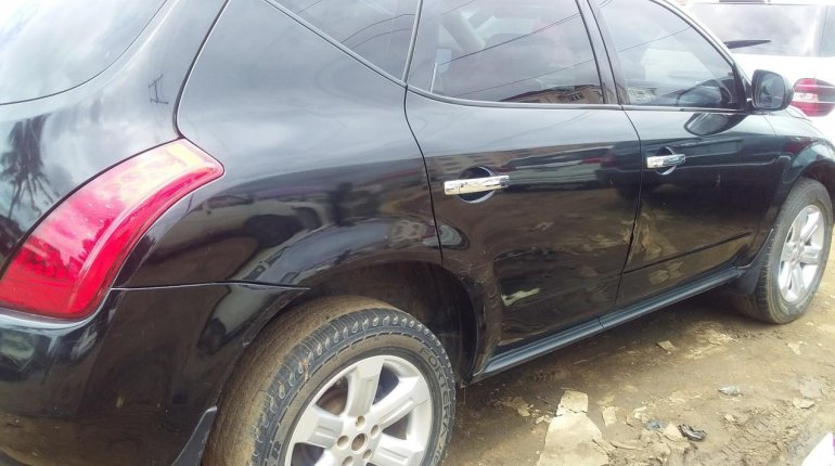 Foreign Used Nissan Murano 2007 Model Black-6