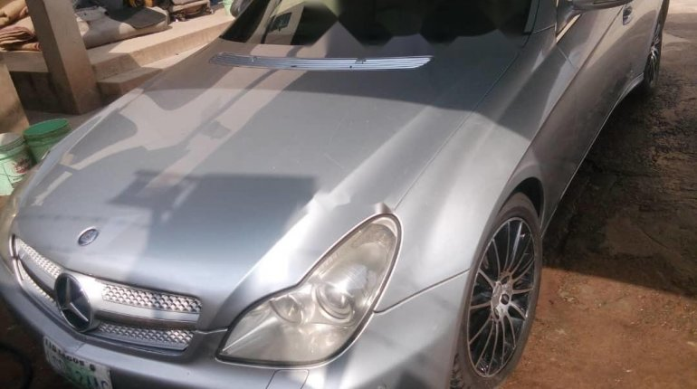 Nigeria Used Mercedes-Benz CLS 2008 Model Silver-6