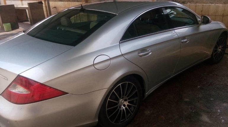 Nigeria Used Mercedes-Benz CLS 2008 Model Silver-1