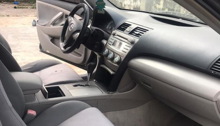 Foreign Used Toyota Camry 2008 Model Gray-9