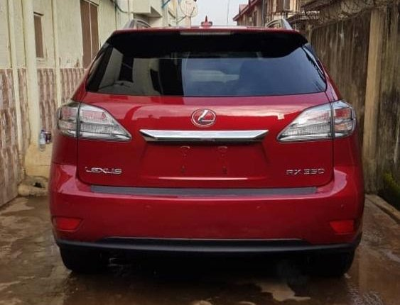 Neat Foreign used 2011 Lexus RX-9
