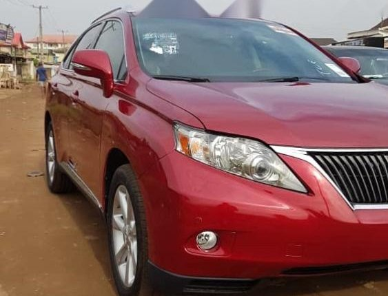 Neat Foreign used 2011 Lexus RX-6