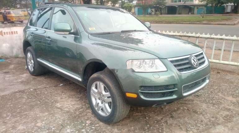 Very Clean Foreign used 2005 Volkswagen Touareg-3