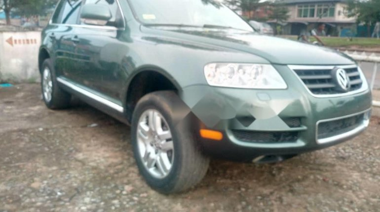 Very Clean Foreign used 2005 Volkswagen Touareg-4