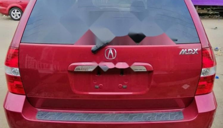 Foreign Used Acura MDX 2003 Model Red-7