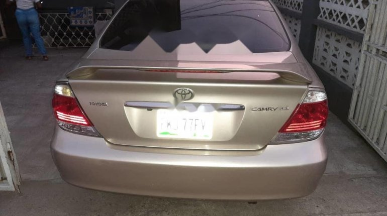 Nigeria Used Toyota Camry 2006 Model Gold -13
