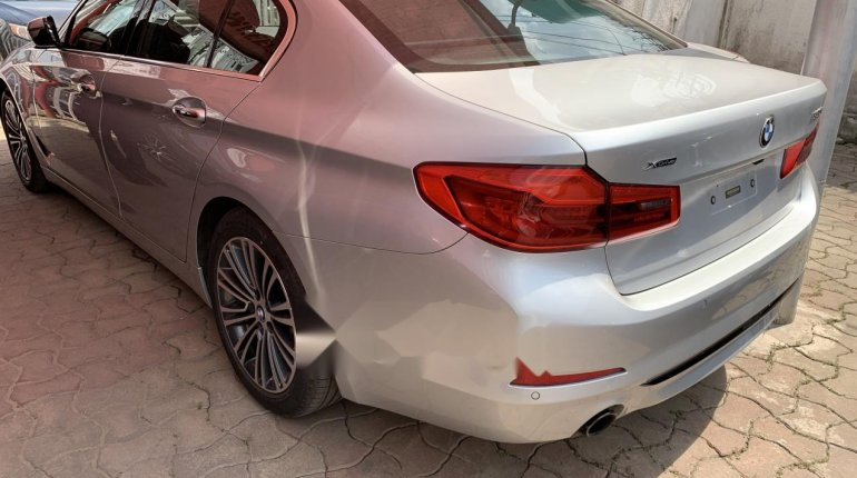 Foreign Used BMW 530i 2017 Model Silver-5