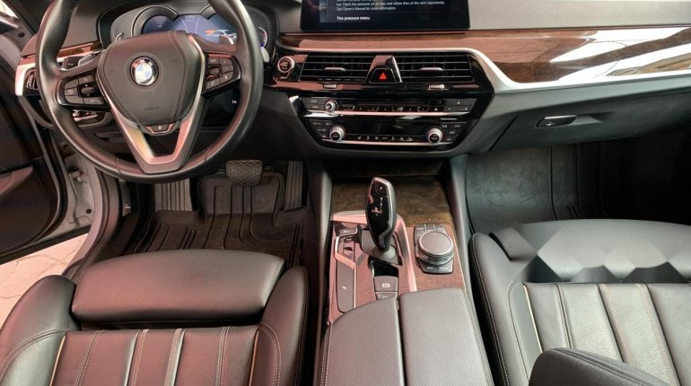 Foreign Used BMW 530i 2017 Model Silver-11