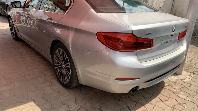 Foreign Used BMW 530i 2017 Model Silver-0