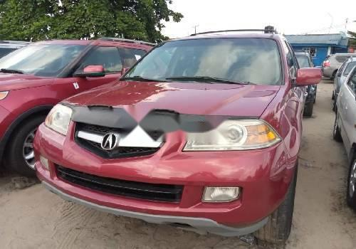 Foreign Used Acura MDX 2006 Model Red-3