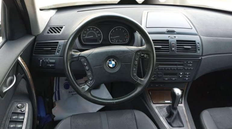 Foreign Used BMW X3 2006 Model Gray-5