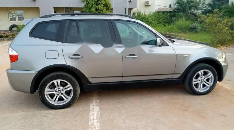 Foreign Used BMW X3 2006 Model Gray-4