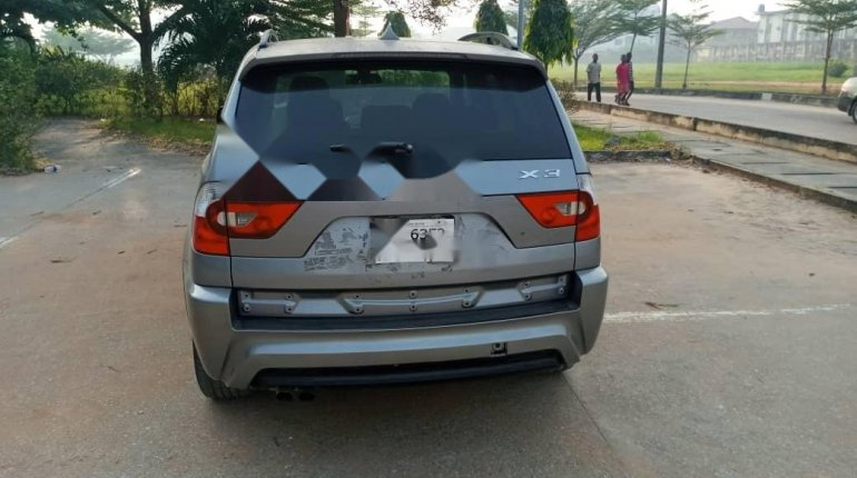 Foreign Used BMW X3 2006 Model Gray-3