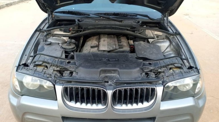 Foreign Used BMW X3 2006 Model Gray-7