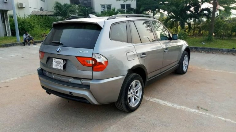 Foreign Used BMW X3 2006 Model Gray-0